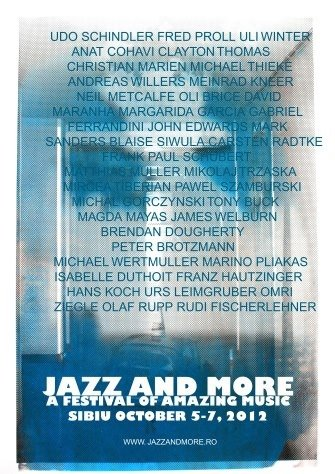 Artists for Jazz and More Sibiu 2012